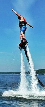 Lake Geneva: Flyboarding, Zip-lining and Bungee Jumping