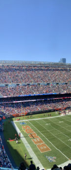 Chicago: Bears Field Passes